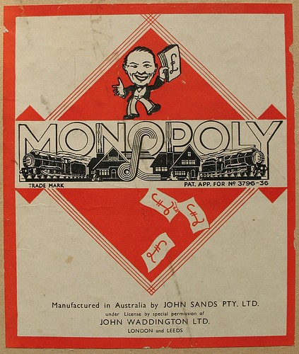 my first monopoly instructions